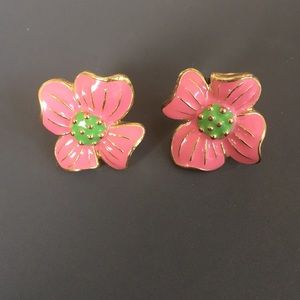 Lilly Pulitzer Flower Stud Earrings